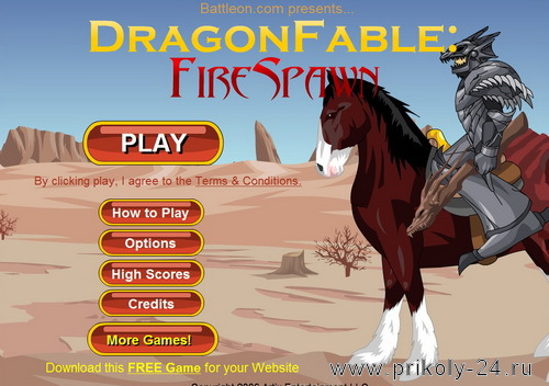 Dragon fable fire spawn