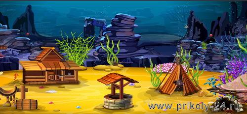 Fish castle escape