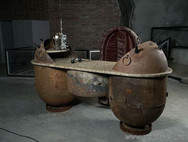 Мебель из мин (9 фото)