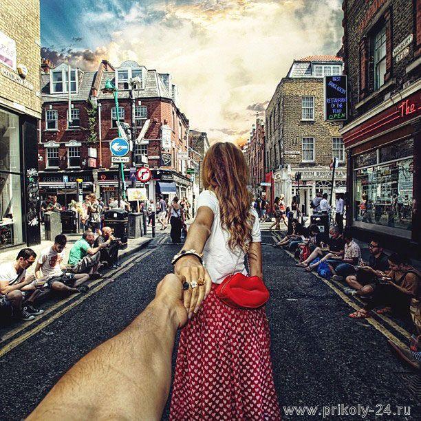 Держа за руку (15 фото)