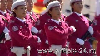 Китайские женщины в армии