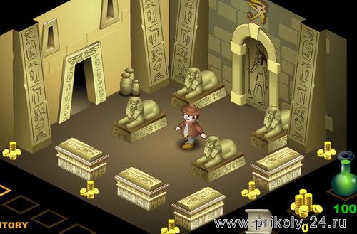 The pharaohs tomb