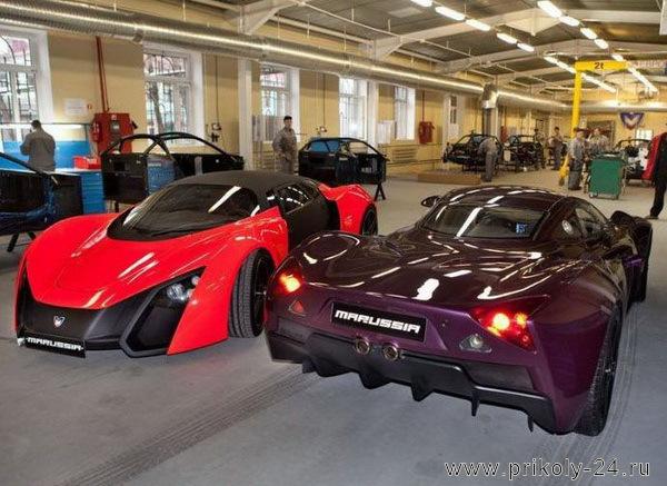 Производство автомобиля Marussia (41 фото)